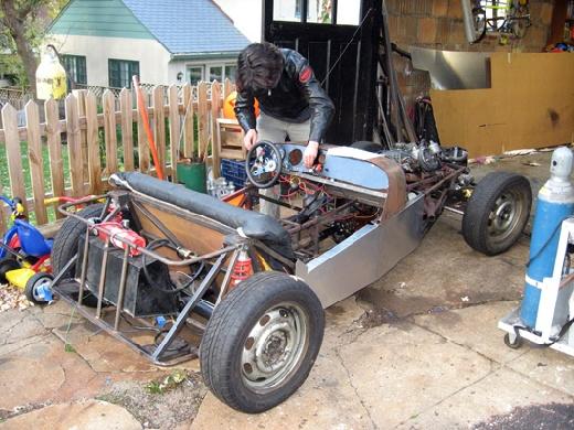 DIY: Hazte tu pr�pio coche de lujo Lotus 7