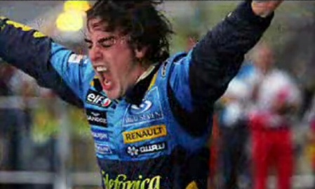 Fernando Alonso en ITV