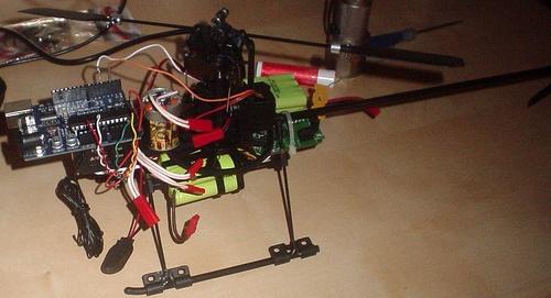 Video arducopter estabilizador para helicoptero rc