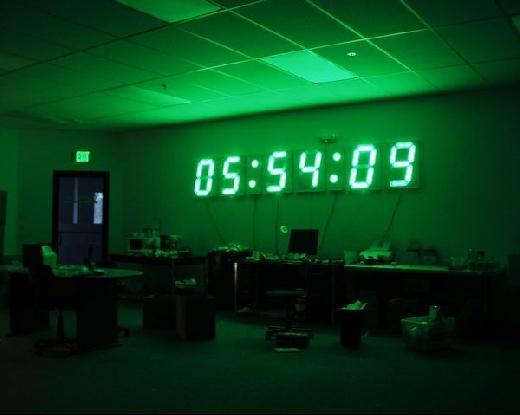 Reloj Gigante Con Power Over Ethernet Bricogeek Com