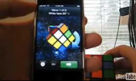 CubeCheater: Resuelve un Cubo de Rubik con tu iPhone