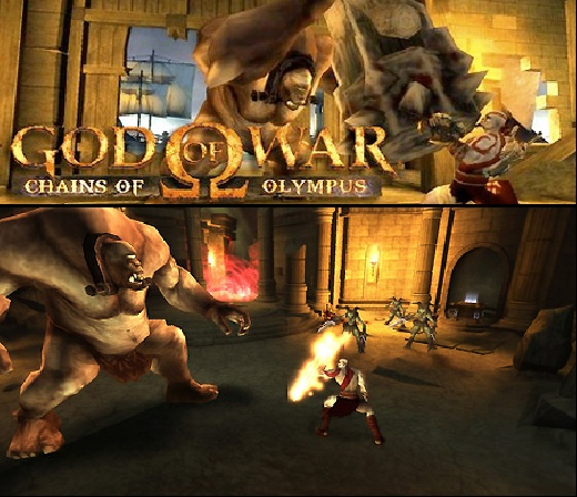 descargar god of war chains of olympus psp iso