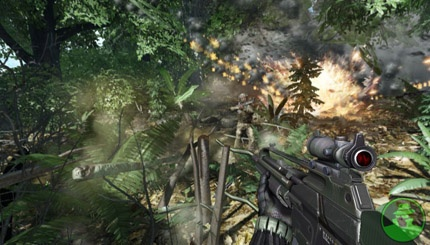 Crysis: Luces y sombras en tiempo real