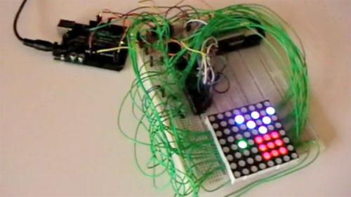 C�mo controlar una matriz de LED RGB con arduino