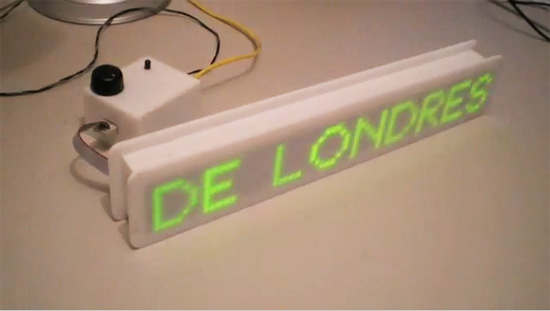Como hacer un lector de Feeds con un Arduino Mega , una Ethernet Shield y Matrices de Leds.