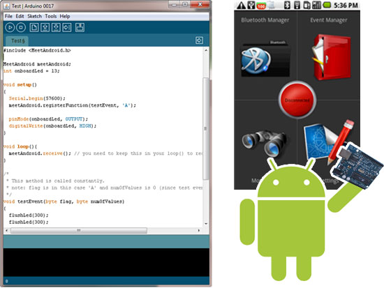 Amarino: C�mo utilizar Arduino con Android