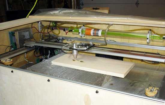 C�mo hacer una cortadora laser casera