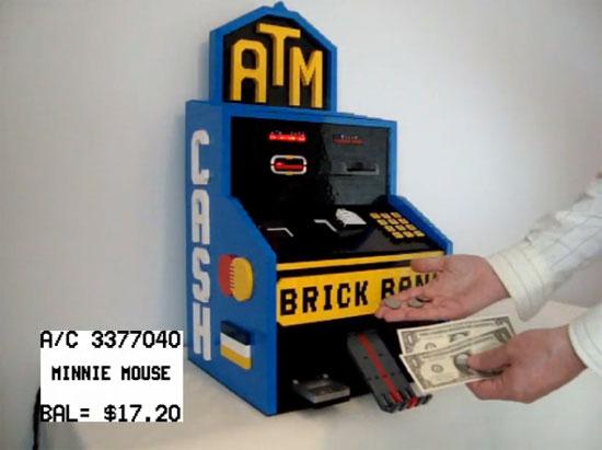 Cajero autom�tico con LEGO