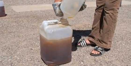 C�mo hacer biodiesel casero en 5 minutos