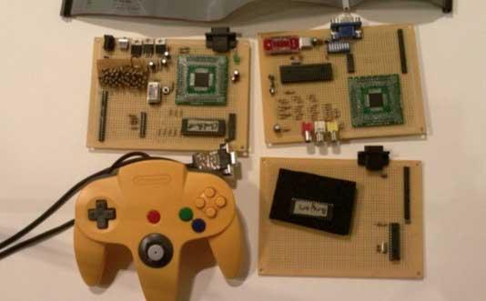 Consola de juegos casera con arm 32 bits - Juegos de construir tu isla ...