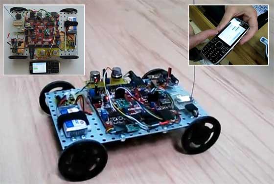 Robot BlueRover: Ganador del Digilent Design Contest