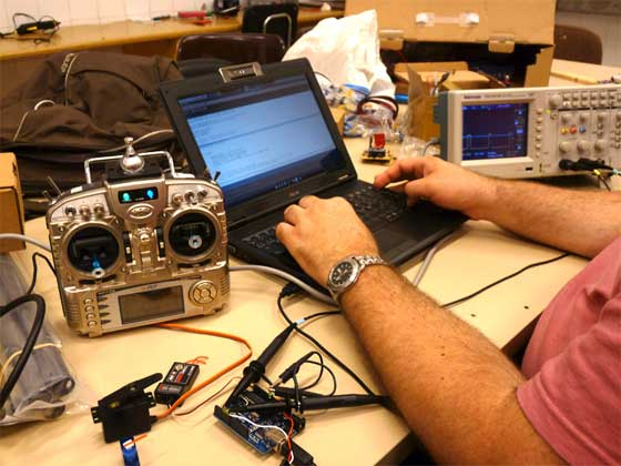 Haciendo Animatronics con Arduino