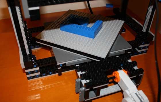 Impresora 3d casera con lego for Construir impresora 3d