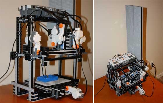 Impresora 3D casera con LEGO