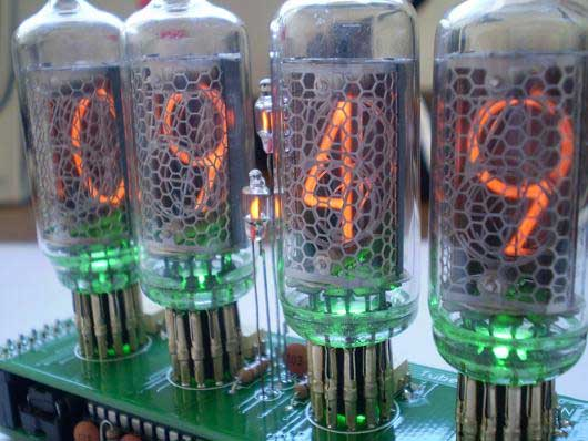 Reloj Digital Casero Con Tubos Nixie Bricogeek Com