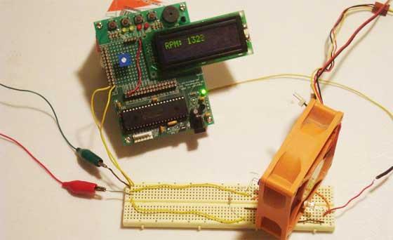 C�mo hacer un tac�metro digital casero
