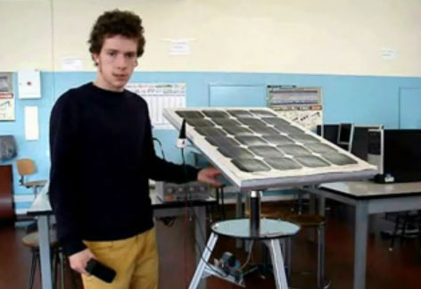 Seguidor de luz autom�tico para panel solar