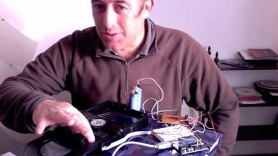 Haciendo funcionar un lector de DVD con Arduino