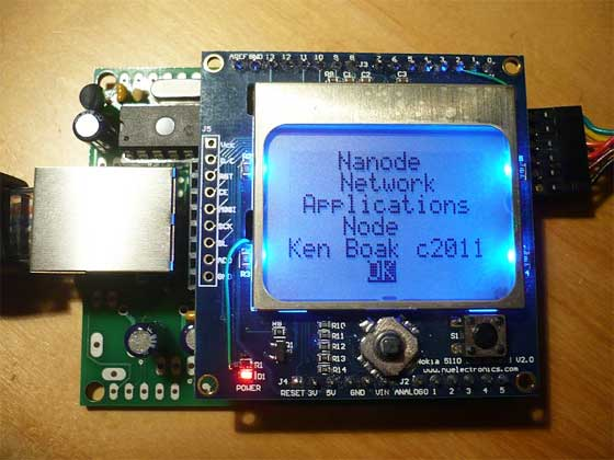 Nanode: Internet of Things compatible con Arduino