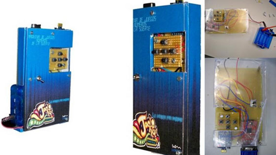 M�quina de juegos casera con uVGA-PICASO