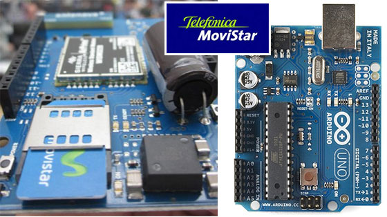 Movistar presentar� una Shield GSM para Arduino en la Campus Party
