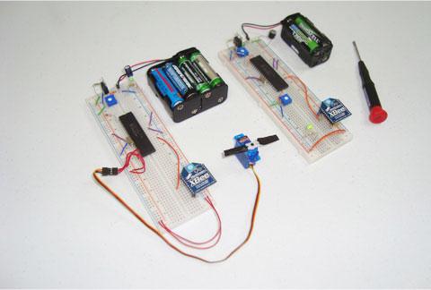 C�mo controlar un servo sin cables con XBee