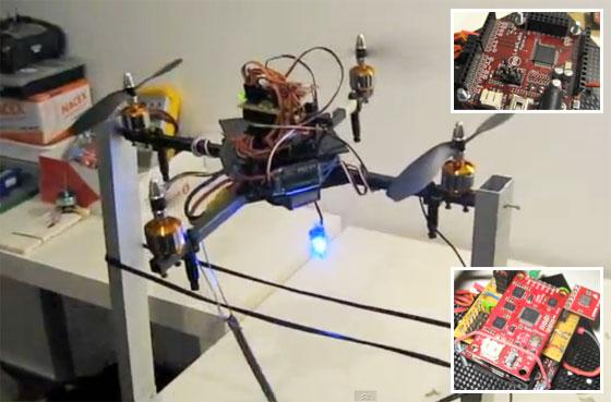 Ajuste PID de un Quadcopter con Maple y Razor 9 DOF