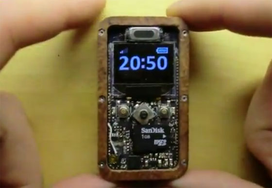 �Phone: Un tel�fono miniatura casero y funcional