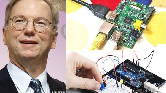 Google patrocinar� escuelas con Rasberry Pi y Arduino