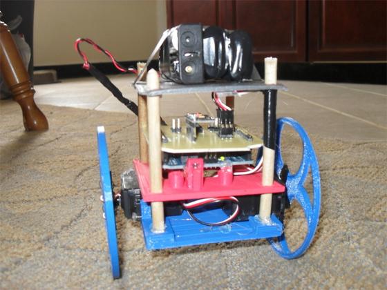 Imprime tu propio robot balancin