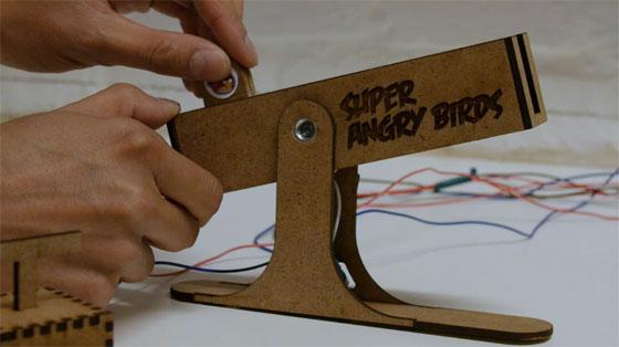 Mando casero para Angry Birds con Arduino