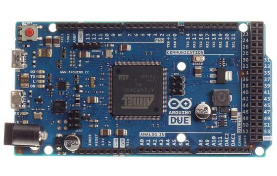 Nuevo Arduino Due con ARM Cortex M3 32bit