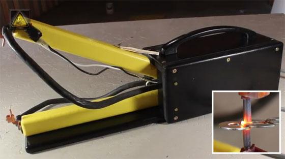 Cómo hacer un soldador por punto casero