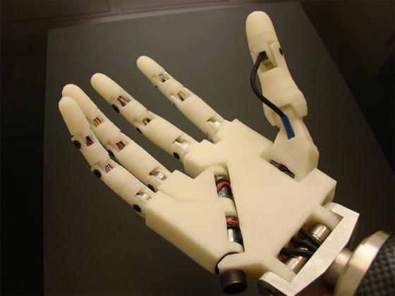 Imprime tu propio robot humanoide bricogeek