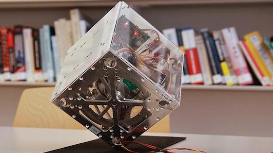 Cubli: un robot en forma de cubo