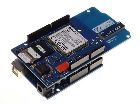 Arduino presenta su nueva gsm shield bricogeek