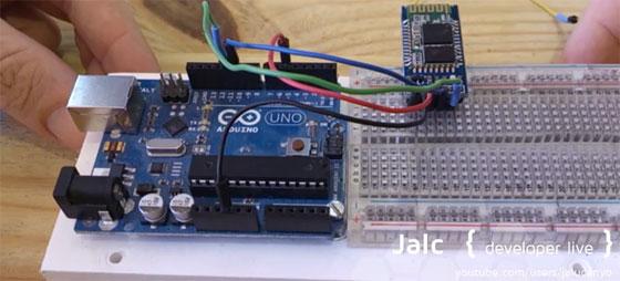 Robótica divulgativa cómo conectar android con arduino