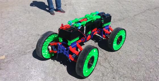 Coche completo impreso en 3D