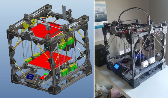 Proyecto locus construyendo una impresora 3d desde cero for Construir impresora 3d