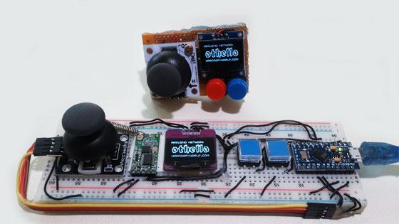 Consola de juegos inalámbrica con arduino bricogeek