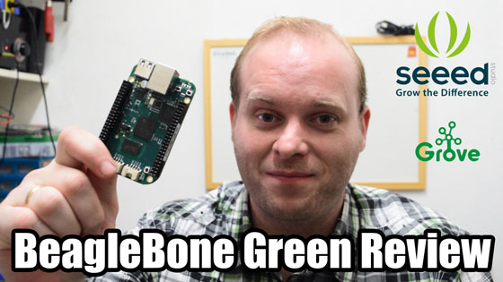 Review BeagleBone Green de Seeed Studio