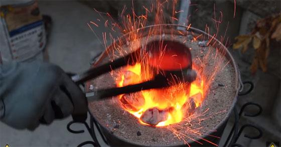 C�mo hacer un horno casero y barato para fundir metal