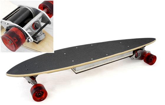 OpenSkate: Un longboard el�ctrico casero para todos