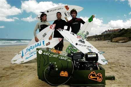 Grinch Art: La m�quina de arrastre para de surfear