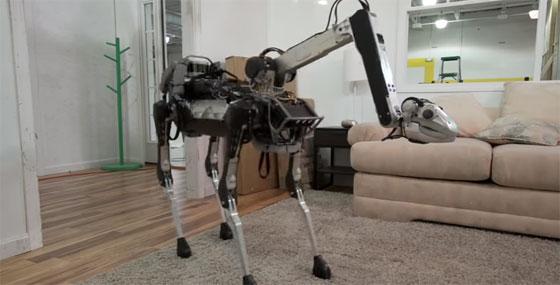 SpotMini: El nuevo robot silencioso de Boston Dynamics
