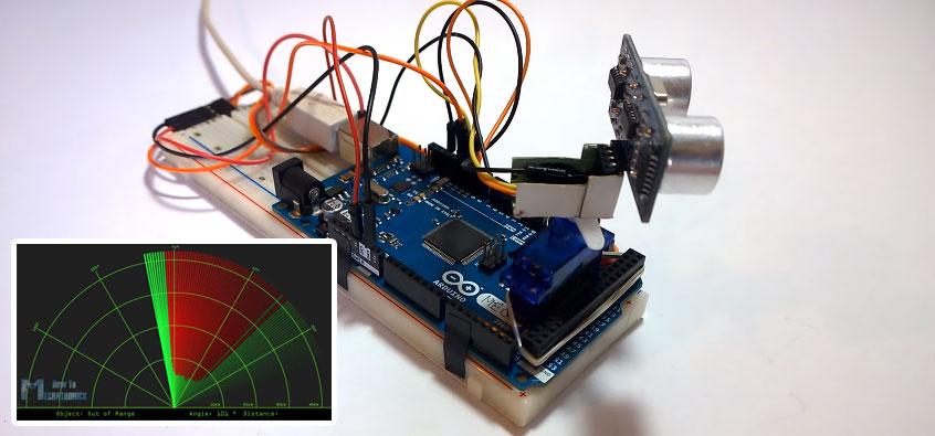 Maximo Ingenio: Cómo hacer un radar con Arduino y Processing