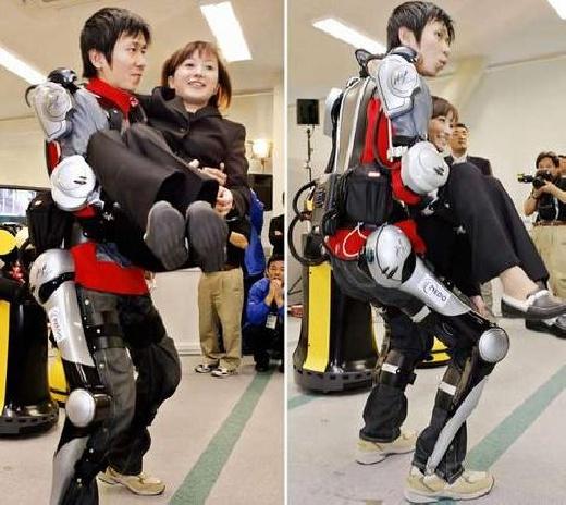 Exoesqueleto cyborg para levantar m�s peso