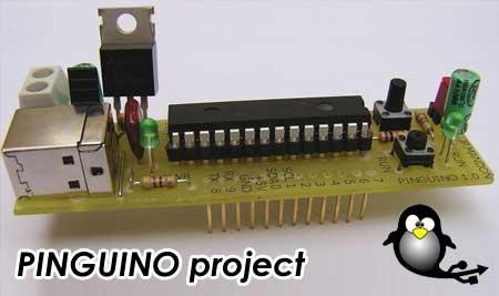 PINGUINO: El clon de Arduino con PIC 18F2550