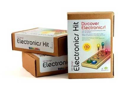 Kit de electronica b�sica para aprendizaje