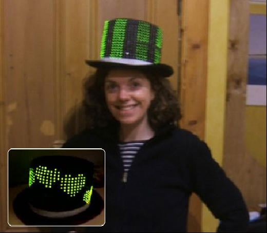 (Video) LedHat: El sombrero Geek con 400 LED's